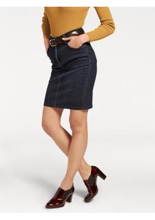 Моделирующая джинсовая юбка Ashley Brooke