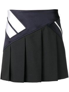 юбка с контрастными полосами Neil Barrett