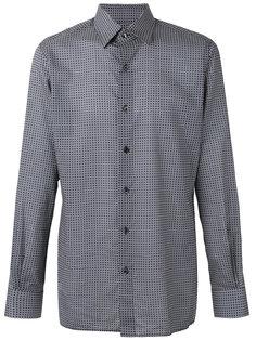 классическая рубашка с мелким принтом Tom Ford