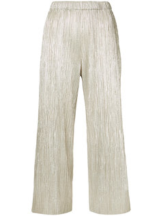 плиссированные брюки шифт Alice+Olivia