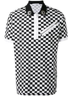 футболка-поло в клетку  Givenchy