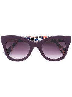 солнцезащитные очки с узором Fendi Eyewear