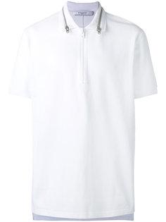 рубашка-поло с воротником на молнии Givenchy