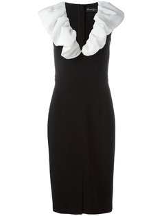платье с гофрированным воротником Rossella Jardini