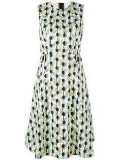 платье в гирляндный принт Marni