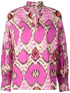 блузка с завязками Etro