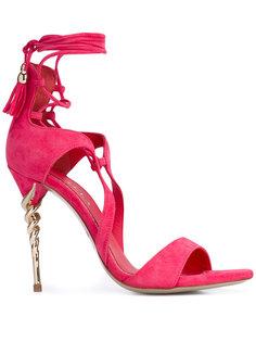 босоножки на спиралевидном каблуке Le Silla