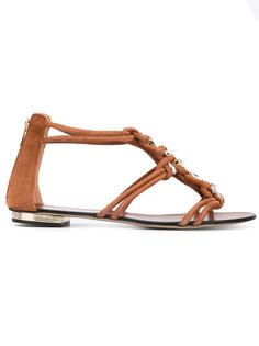 сандалии с блестящей отделкой Le Silla