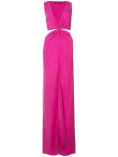 платье с резным дизайном Balmain