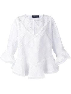 блузка с бахромой Rossella Jardini