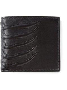 кошелек с изображением грудной клетки Alexander McQueen