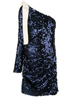 платье на одно плечо MSGM