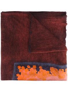 шарф с абстрактным принтом Avant Toi
