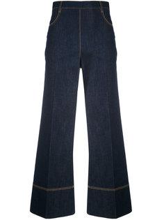 укороченные широкие джинсы Ermanno Scervino