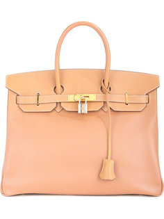 тисненая сумка-тоут Birkin 35 Hermès Vintage