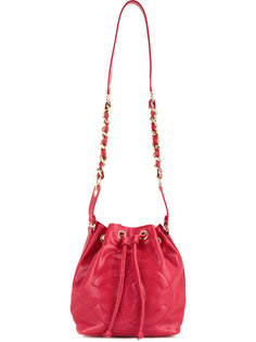 сумка на шнурке с цепочкой CC Chanel Vintage
