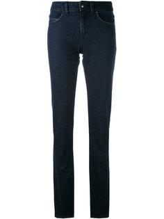 джинсы скинни с подвернутым подолом Armani Jeans