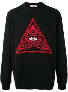 джемпер с принтом глаза Givenchy