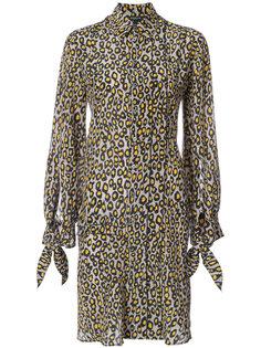 платье с цветочным принтом Derek Lam