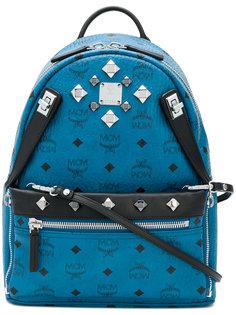 декорированный рюкзак с принтом-логотипом MCM