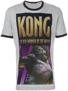 футболка с принтом King Kong Dolce & Gabbana