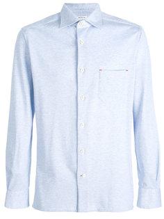 рубашка с нагрудным карманом Kiton