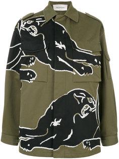 куртка с бисерной вышивкой Valentino