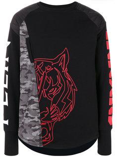 свитер с вышивкой Plein Sport