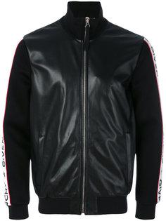 куртка-бомбер с полосками на рукавах Givenchy