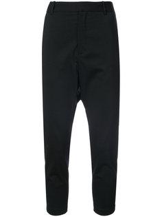 укороченные брюки с заниженной проймой Nili Lotan