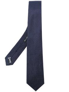галстук с тисненым узором Giorgio Armani