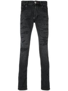 джинсы прямого кроя Misao Philipp Plein