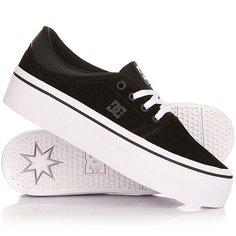 Кеды кроссовки низкие женские DC Trase Pltfrm Se Black/White