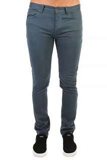 Джинсы узкие Billabong Slim Outsider Color Slate Blue