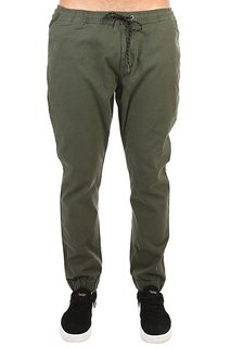 Штаны прямые Billabong New Order Elastic Military Camo
