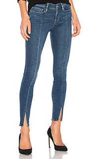 Узкие джинсы с разрезом спереди le skinny de jeanne - FRAME Denim