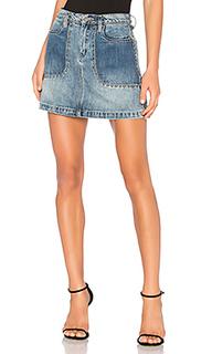 Мини юбка с накладками - BLANKNYC [Blanknyc]