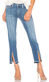 Прямые джинсы с разрезом спереди le nouveau - FRAME Denim