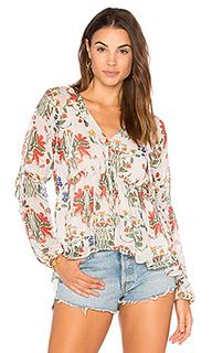 Приталенная блуза на пуговицах - Endless Rose