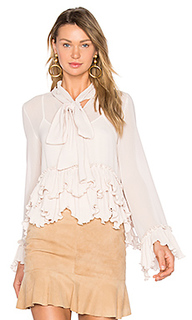 Tie neck ruffle top - See By Chloe