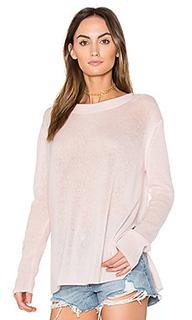 Пуловер с разрезами по бокам - White + Warren