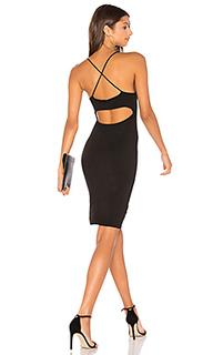 Платье с перекрестными шлейками сзади - NYTT