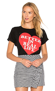 Футболка better in real life - Wildfox Couture