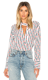Janelle stripe blouse - Equipment