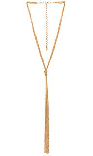 Ожерелье с кисточками - Ettika
