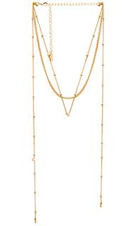 Изысканное ярусное ожерелье - Ettika