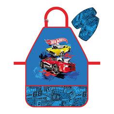 Фартук Hot Wheels Super Car с нарукавниками Mattel