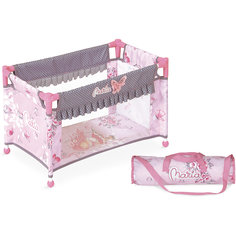 """Манеж-кроватка для куклы """"Мария"""", 50 см, DeCuevas"""