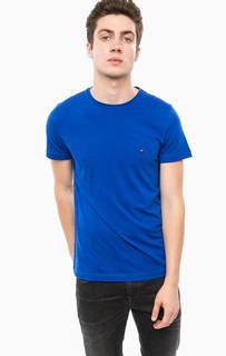 Однотонная хлопковая футболка Tommy Hilfiger