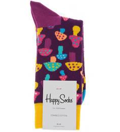 Разноцветные хлопковые носки Happy Socks